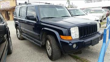 2006 Jeep Commander for sale at Palmer Auto Sales in Rosenberg TX
