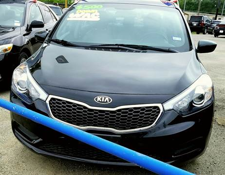 2014 Kia Forte for sale at Palmer Auto Sales in Rosenberg TX