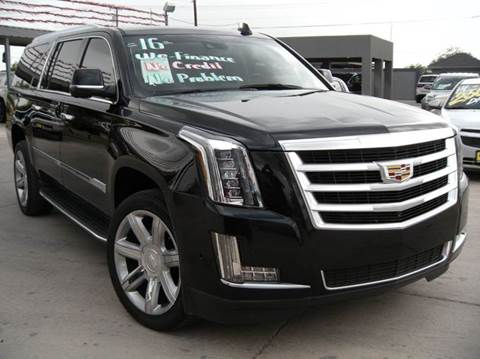 2016 Cadillac Escalade ESV for sale at A & V MOTORS in Hidalgo TX