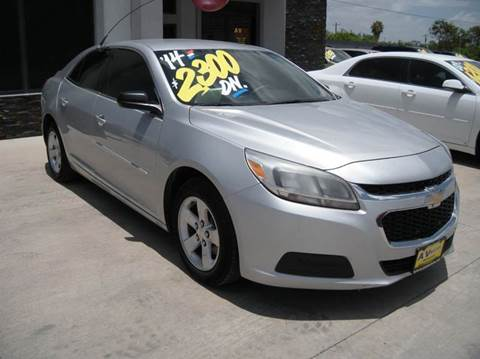 2014 Chevrolet Malibu for sale at A & V MOTORS in Hidalgo TX