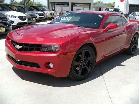 2013 Chevrolet Camaro for sale at A & V MOTORS in Hidalgo TX
