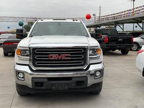 2016 GMC Sierra 2500HD for sale at A & V MOTORS in Hidalgo TX