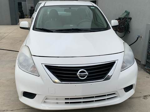 2014 Nissan Versa for sale at A & V MOTORS in Hidalgo TX
