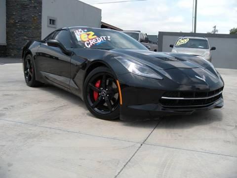 2015 Chevrolet Corvette for sale at A & V MOTORS in Hidalgo TX
