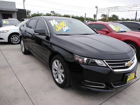 2016 Chevrolet Impala for sale at A & V MOTORS in Hidalgo TX