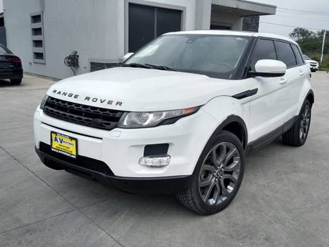 2013 Land Rover Range Rover Evoque for sale at A & V MOTORS in Hidalgo TX