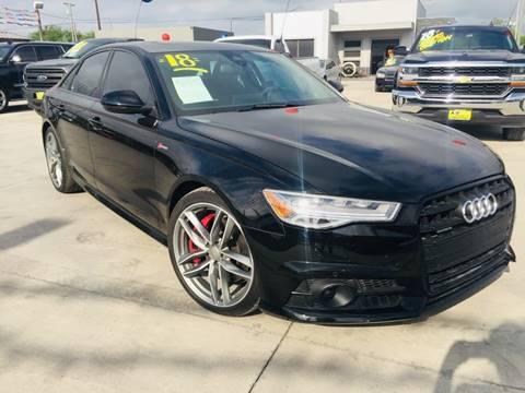 2018 Audi A6 for sale at A & V MOTORS in Hidalgo TX