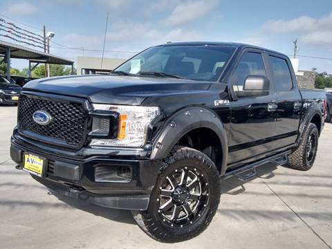 2018 Ford F-150 for sale at A & V MOTORS in Hidalgo TX