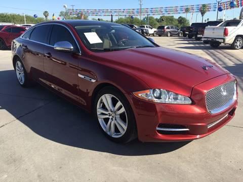 2012 Jaguar XJL for sale at A & V MOTORS in Hidalgo TX
