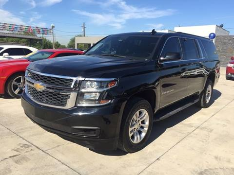 2015 Chevrolet Suburban for sale at A & V MOTORS in Hidalgo TX