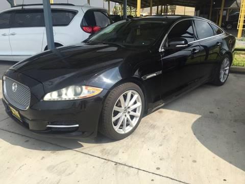 2011 Jaguar XJ for sale at A & V MOTORS in Hidalgo TX