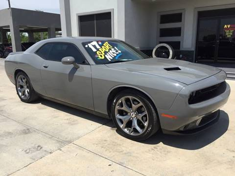 2017 Dodge Challenger for sale at A & V MOTORS in Hidalgo TX