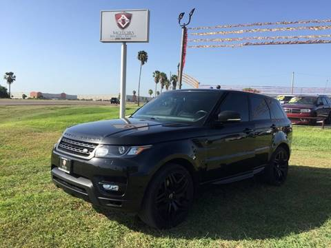 2015 Land Rover Range Rover Sport for sale at A & V MOTORS in Hidalgo TX