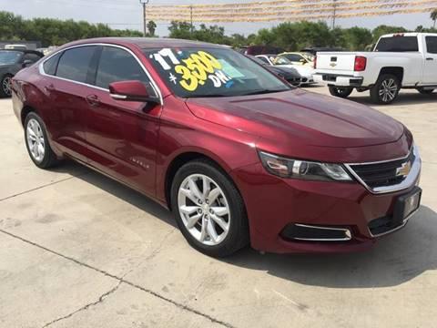 2017 Chevrolet Impala for sale at A & V MOTORS in Hidalgo TX