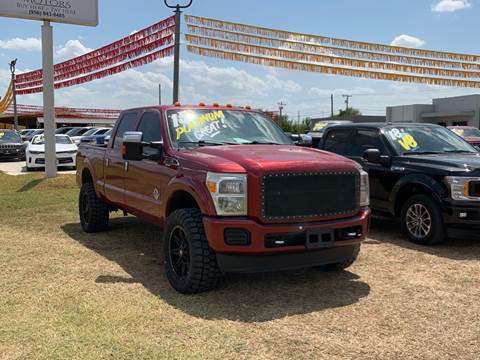 2015 Ford F-350 Super Duty for sale at A & V MOTORS in Hidalgo TX