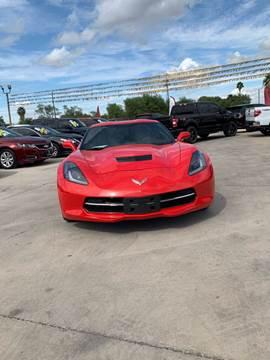 2018 Chevrolet Corvette for sale at A & V MOTORS in Hidalgo TX