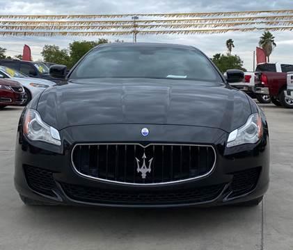 2015 Maserati Quattroporte for sale at A & V MOTORS in Hidalgo TX