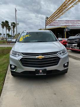 2018 Chevrolet Traverse for sale at A & V MOTORS in Hidalgo TX