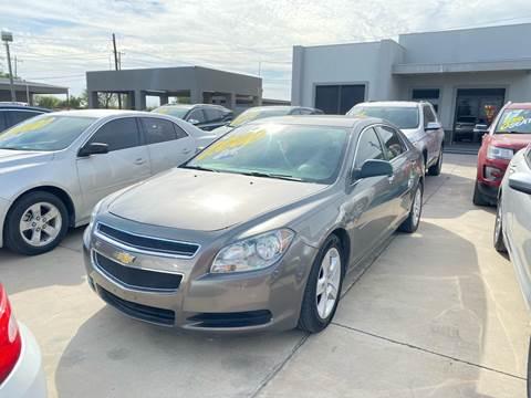 2010 Chevrolet Malibu for sale at A & V MOTORS in Hidalgo TX
