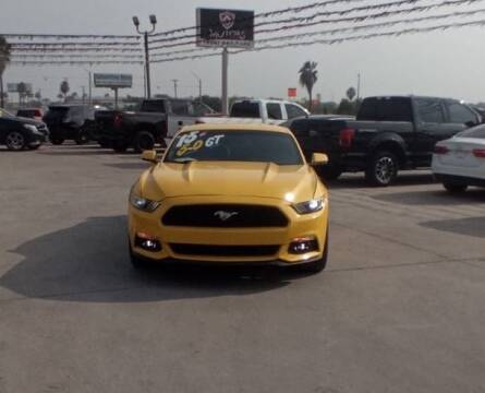 2015 Ford Mustang for sale at A & V MOTORS in Hidalgo TX
