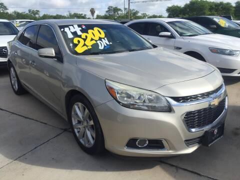 2014 Chevrolet Malibu for sale at A & V MOTORS in Hidalgo TX