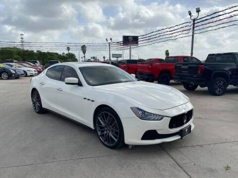 2015 Maserati Ghibli for sale at A & V MOTORS in Hidalgo TX