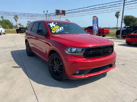 2016 Dodge Durango for sale at A & V MOTORS in Hidalgo TX