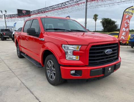 2015 Ford F-150 for sale at A & V MOTORS in Hidalgo TX