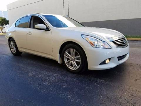 2012 Infiniti G37 Sedan for sale at HD CARS INC in Hollywood FL