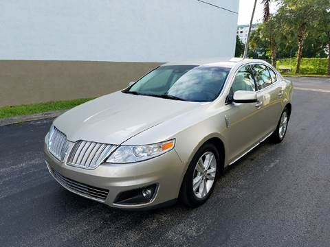 2011 Lincoln MKS for sale in Hollywood, FL