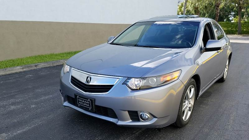 2012 Acura TSX for sale at HD CARS INC in Hollywood FL