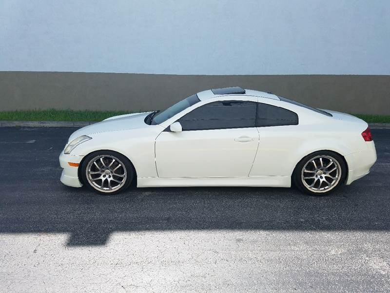 2006 Infiniti G35 for sale at HD CARS INC in Hollywood FL