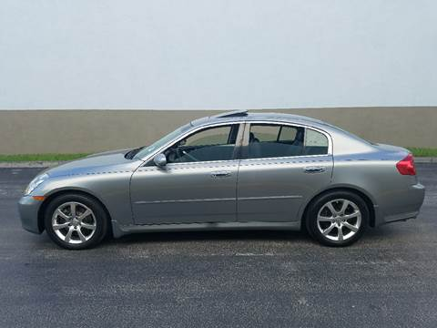 2006 Infiniti G35 for sale in Hollywood, FL