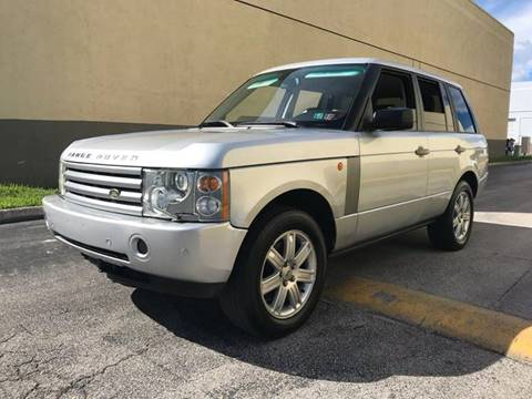 Sams Auto Sales >> 2005 Land Rover Range Rover For Sale - Carsforsale.com®