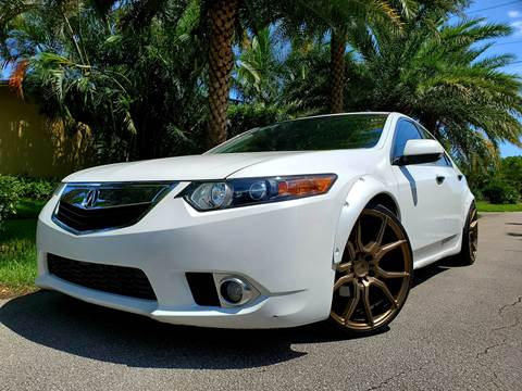 2014 Acura TSX for sale in Hollywood, FL