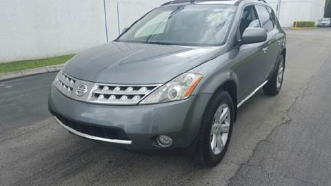 2007 Nissan Murano for sale at HD CARS INC in Hollywood FL