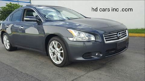 2012 Nissan Maxima for sale at HD CARS INC in Hollywood FL