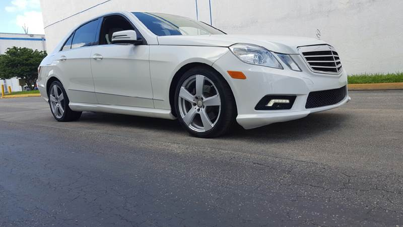 2011 Mercedes-Benz E-Class for sale at HD CARS INC in Hollywood FL