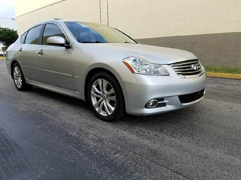 2010 Infiniti M35 for sale in Hollywood, FL