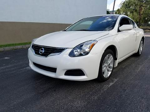 2012 Nissan Altima for sale at HD CARS INC in Hollywood FL