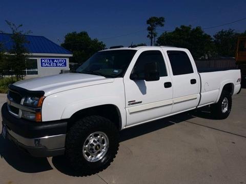 2004 Chevrolet Silverado 2500HD for sale in Wichita Falls, TX