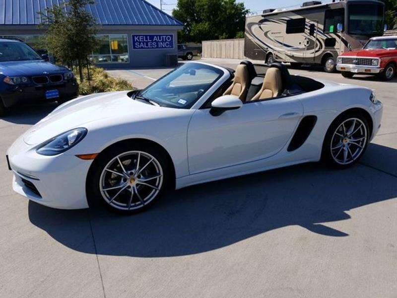 2019 Porsche 718 Boxster for sale at Kell Auto Sales, Inc in Wichita Falls TX