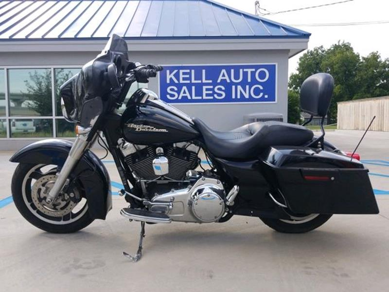 2009 Harley-Davidson FLHX Street Glide for sale at Kell Auto Sales, Inc in Wichita Falls TX