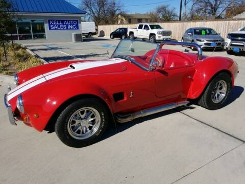 1985 Ford COBRA for sale at Kell Auto Sales, Inc - Grace Street in Wichita Falls TX