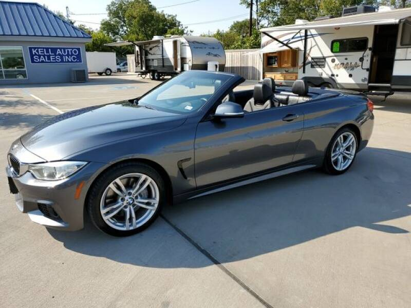 2014 BMW 4 Series for sale at Kell Auto Sales, Inc - Grace Street in Wichita Falls TX