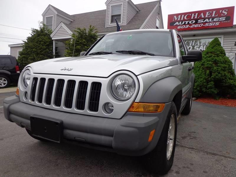 2005 Jeep Liberty 4dr Sport Turbodiesel 4WD SUV - Derry NH