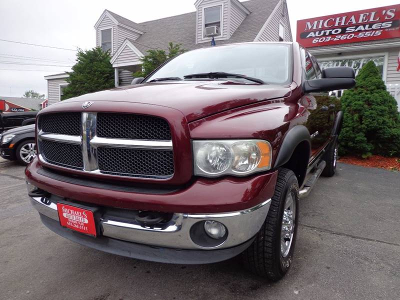 2003 Dodge Ram Pickup 2500 4dr Laramie 4WD Quad Cab SB - Derry NH