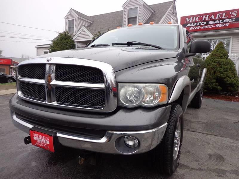 2003 Dodge Ram Pickup 2500 2dr Regular Cab SLT 4WD LB - Derry NH