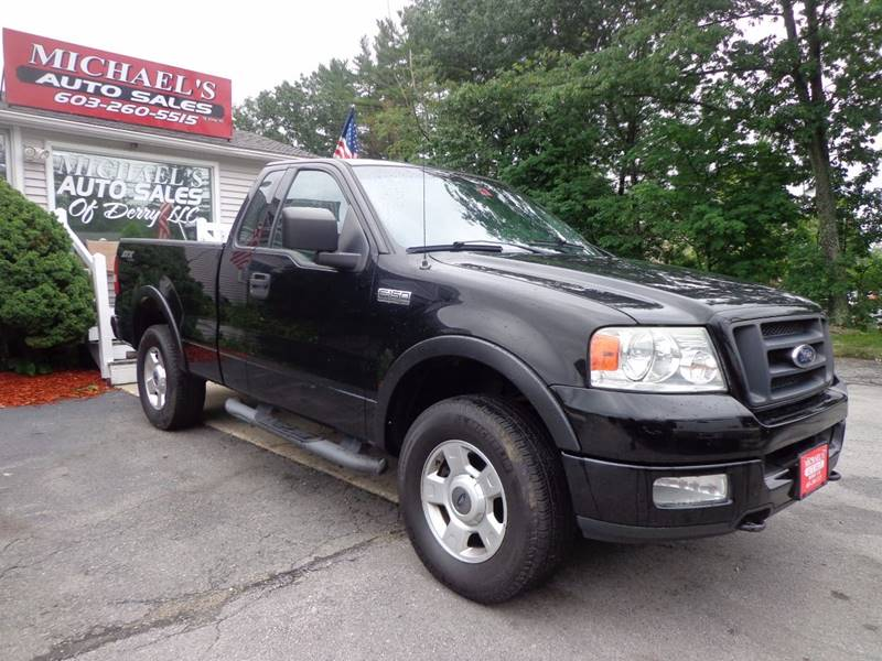 2004 Ford F-150 2dr Regular Cab STX 4WD Styleside 6.5 ft. SB - Derry NH