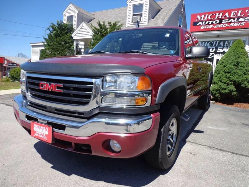 2006 Gmc Sierra 2500Hd SLE2 4dr Extended Cab 4WD SB In Derry NH ...